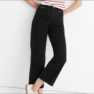 Madewell Slim Wide-Leg Jeans in Lunar Wash